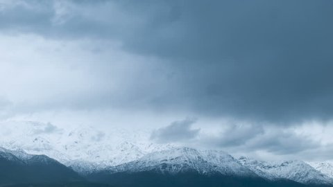 STORM IN THE ANDES