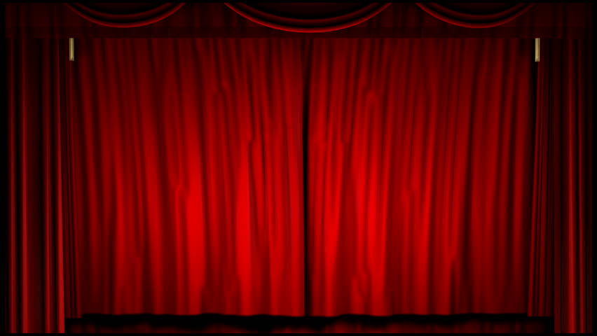 Good A 1080p Video Of A Theater Curtain Uncovering The Movie Screen (16:9)