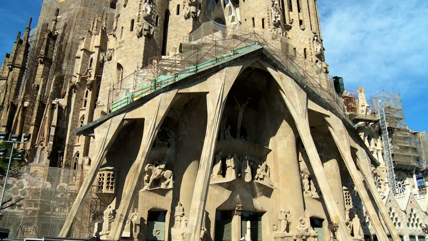 Church of the sagrada familia