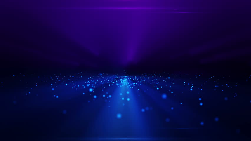 Fancy Light Effects In A Dark Background Stock Footage: Stock Video Of Loopable Space With Lighting Effects