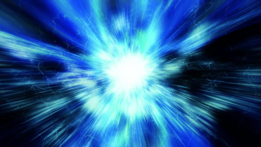 A Supernova bursts light (Loop). #8270914