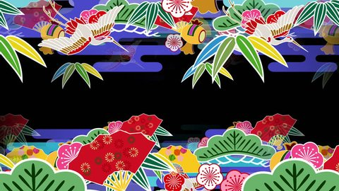 "Japanese Pattern ""symbol of good luck"" background."