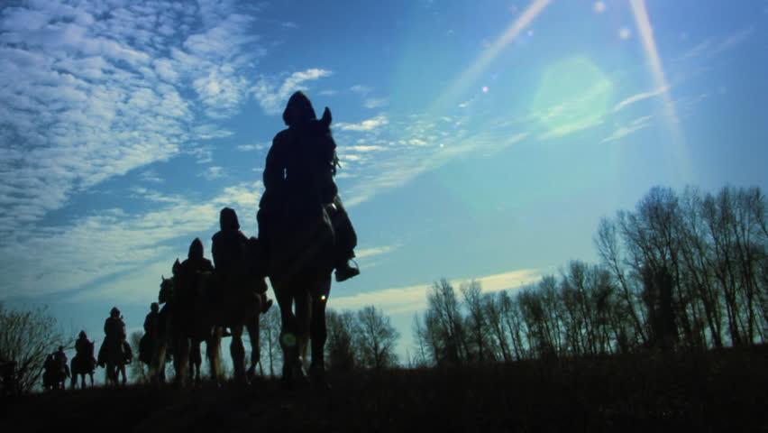Header of horseman
