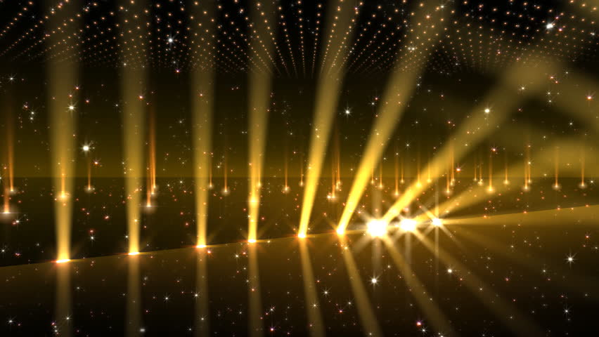 Gold Stage Backdrop Background Music Shine Glitter Light