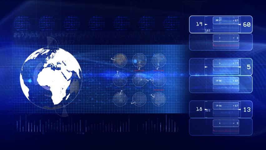 Technology background LOOP | Shutterstock HD Video #8360401