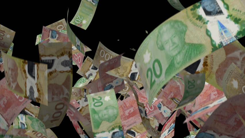 Falling Canadian dollar