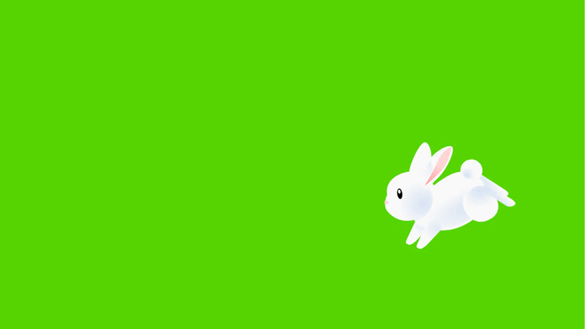 Easter Bunny with Easter egg effect | Shutterstock Video #8708056