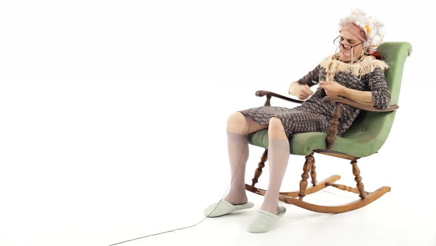 lady in a rocking chair essay
