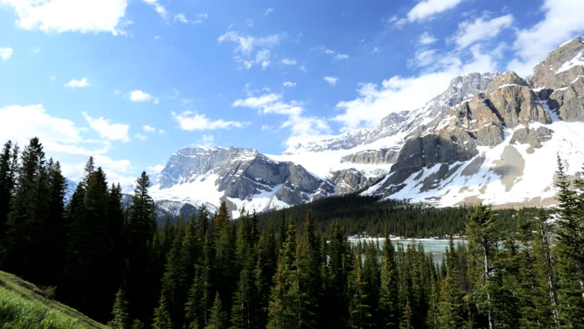 Stock Video Clip of Outdoor travel tourism destination Icefields