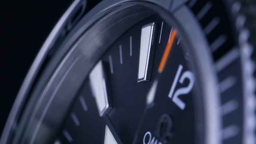 Luxury men's watch - made in Switzerland   Shutterstock HD Video #8750074
