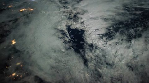 International Space Station ISS  Aurora Borealis over East Coast of U.S, Time Lapse 4K. Created from Public Domain images, courtesy of NASA Johnson Space Center : http://eol.jsc.nasa.gov