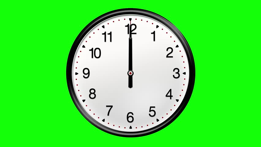 Large Round Clock Counting Down Stock Footage Video (100% Royalty-free)  8884654   Shutterstock