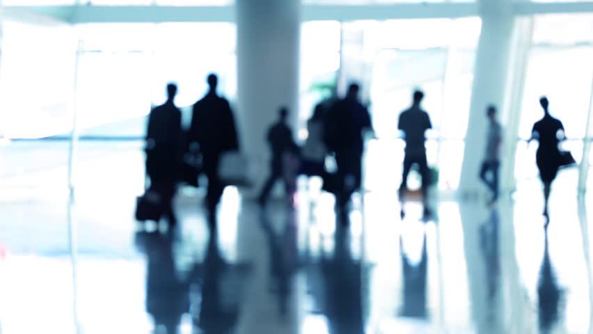 Motion passenger at airport, shanghai china. | Shutterstock HD Video #8923414