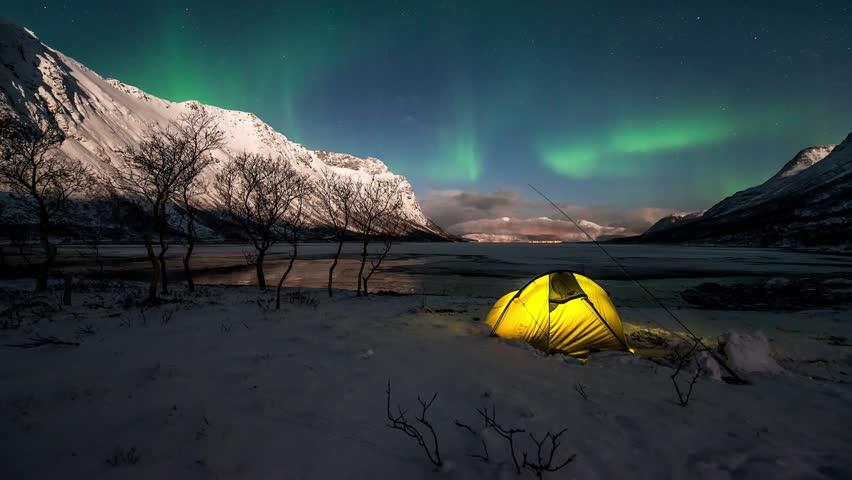 Northern Lights - Grøtfjorden, Norway #8936053