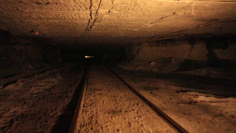 Coal Mine Underground Rail Shaft