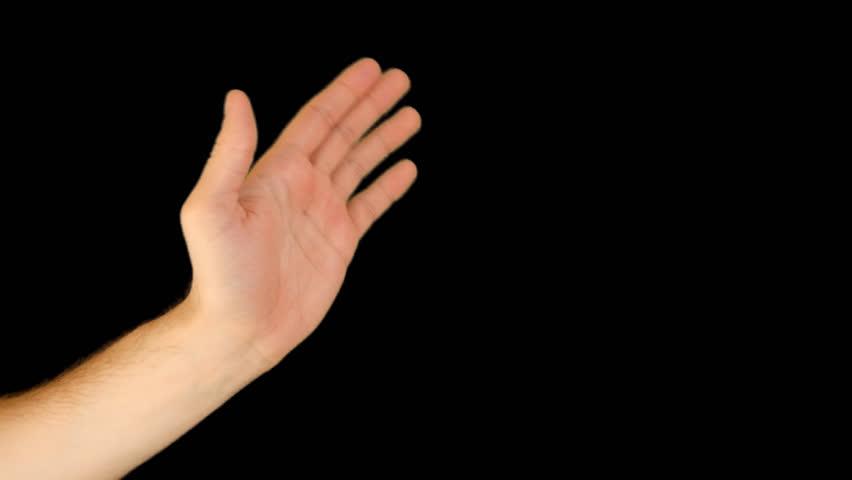 Stock Video Of Hand Gestures