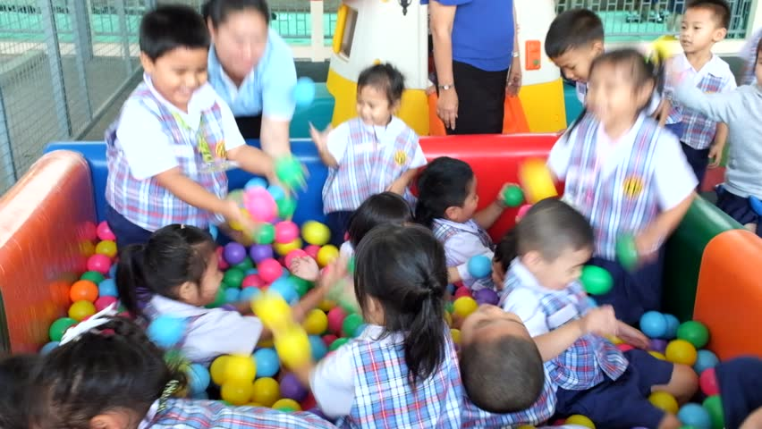 bangkok thailand feb 9 2015 unknown children in children playing in the - Images Of Children Playing At School