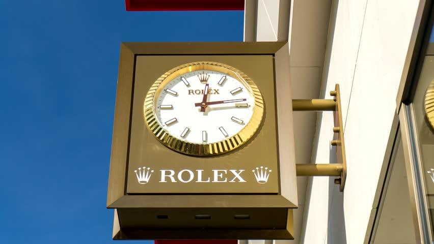 rolex distribution