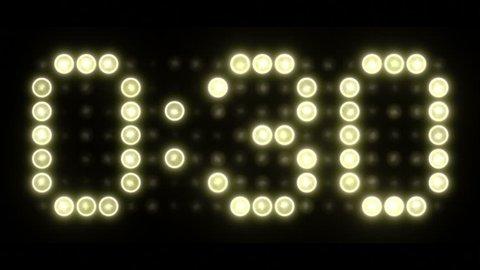 30 Second Scoreboard Countdown - Colon