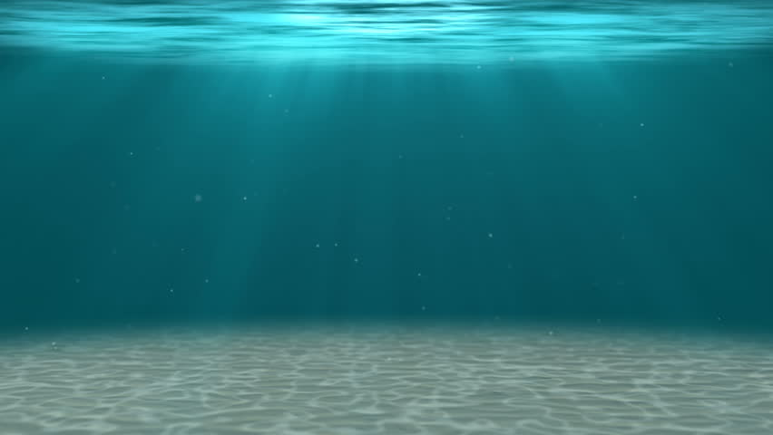 HD - Deep water. Underwater background (Loopable)