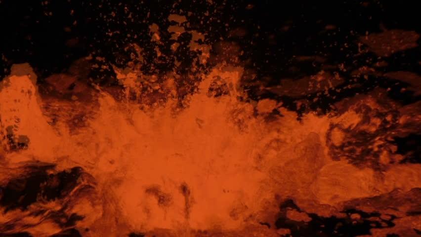 Eruption of Volcano Erta Ale, Ethiopia | Shutterstock HD Video #9442814