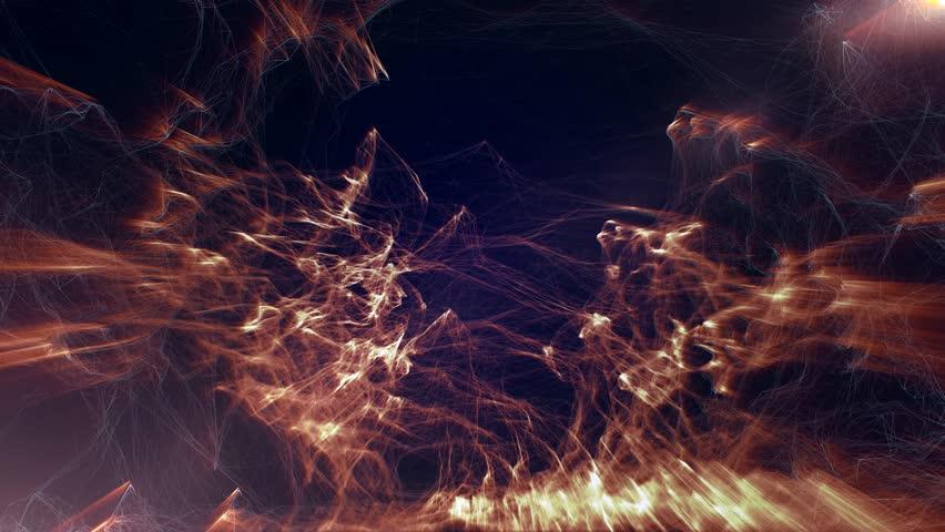 Digital fire abstract background   Shutterstock HD Video #9572414