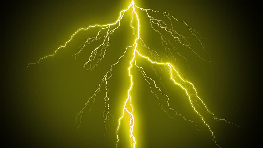 Yellow Lightning StrikesThunderstorm With Flashing MORE OPTIONS IN MY PORTFOLIO