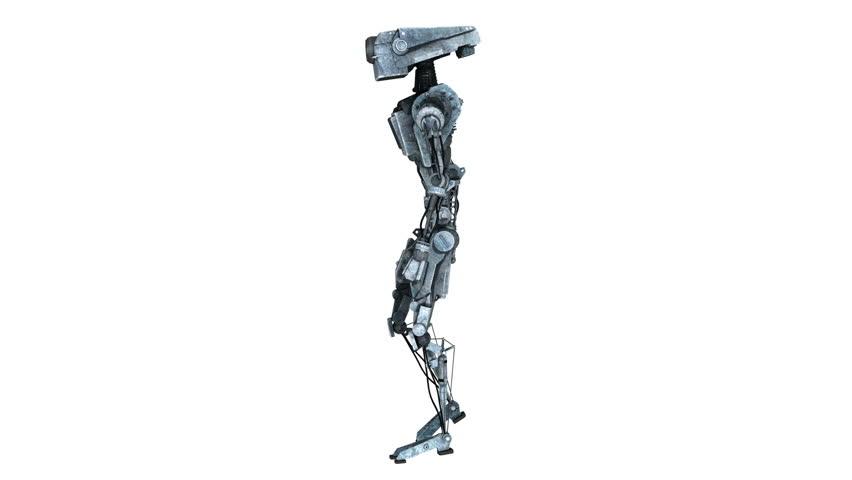Walking robot | Shutterstock HD Video #9683774