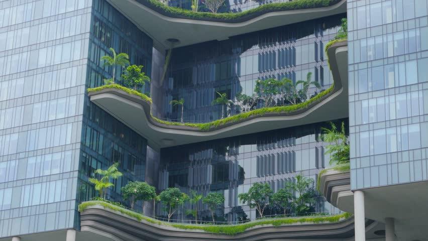 Stock video of singapore circa april 2015 modern 9705944 shutterstock