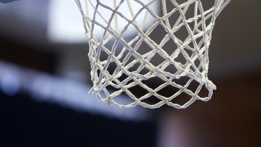 Close up of a basketball dunk, slowmotion | Shutterstock HD Video #9793274