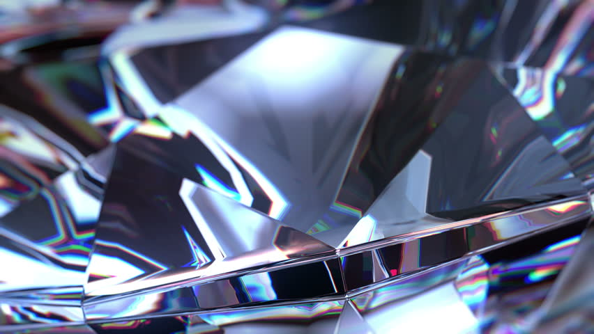 Slowly Rotating Diamond, close up. beautiful 3d animation, seamless loop, 4K. See more footages with diamonds in my portfolio.