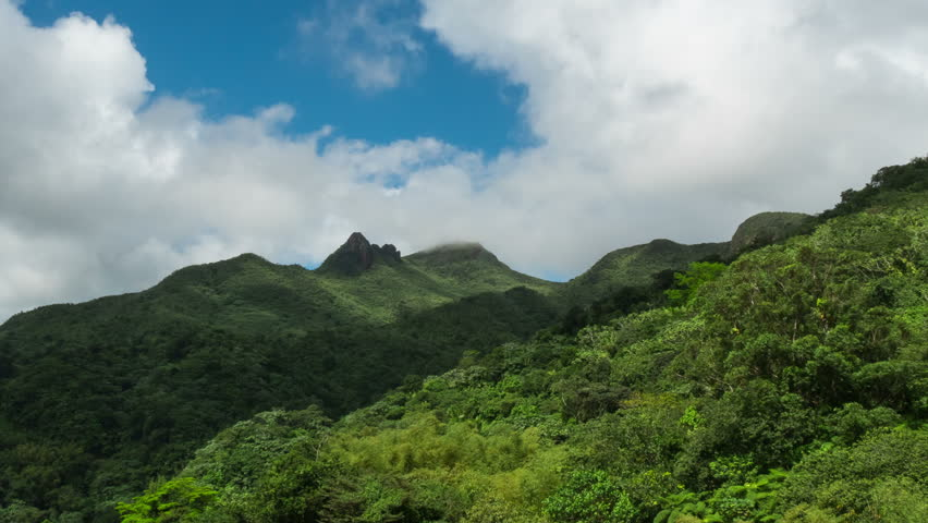 Beautiful Timelapse of Cerro de Punta, the highest point of Puerto Rico in the Carribean. Cerro de Punta lies in the heart of the rainforest El Yunque in tropical Puerto Rico.